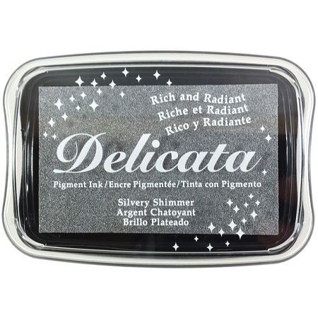 Delicata Ink Pad Silvery Shimmer
