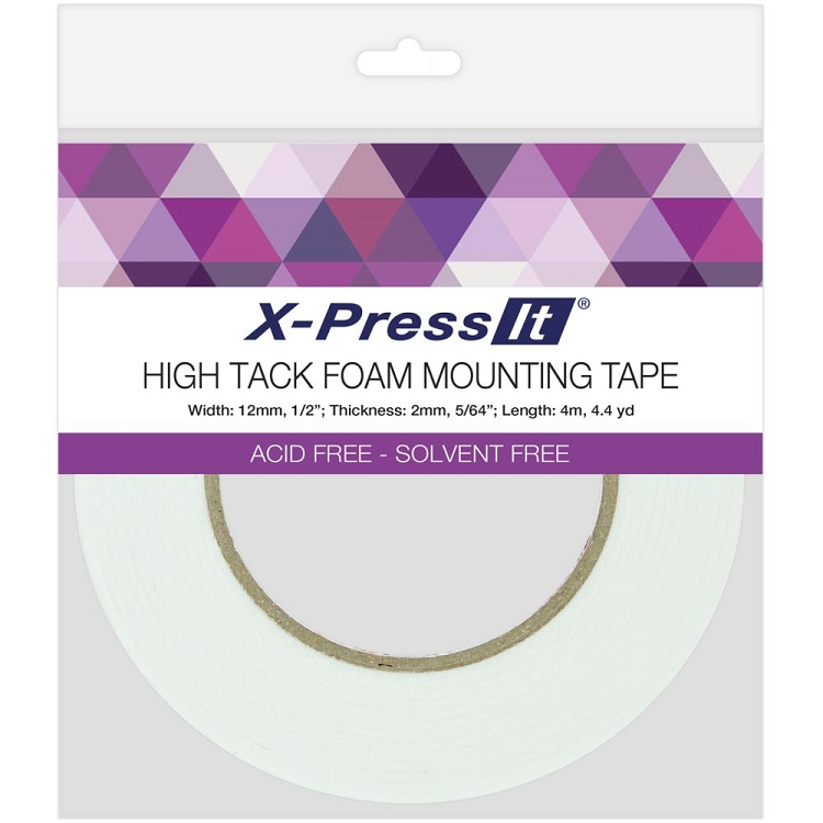 High Tack Foam Mounting Tape 12mm