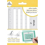 Sticky Envelope Address Template