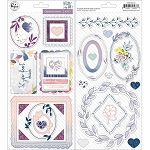 Indigo Hills 2 Chipboard Stickers