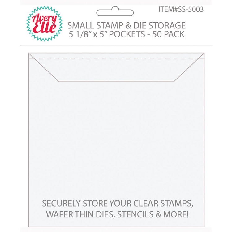 Small Stamp & Die Storage Pockets