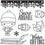 Winter Wonderland Phoebe Stamp Set