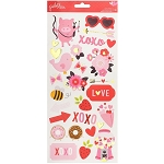 My Funny Valentine Icons & Accents Stickers