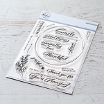 Oval Foliage Stamp Set