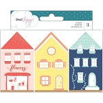 Lovely Day Wooden House Stamps