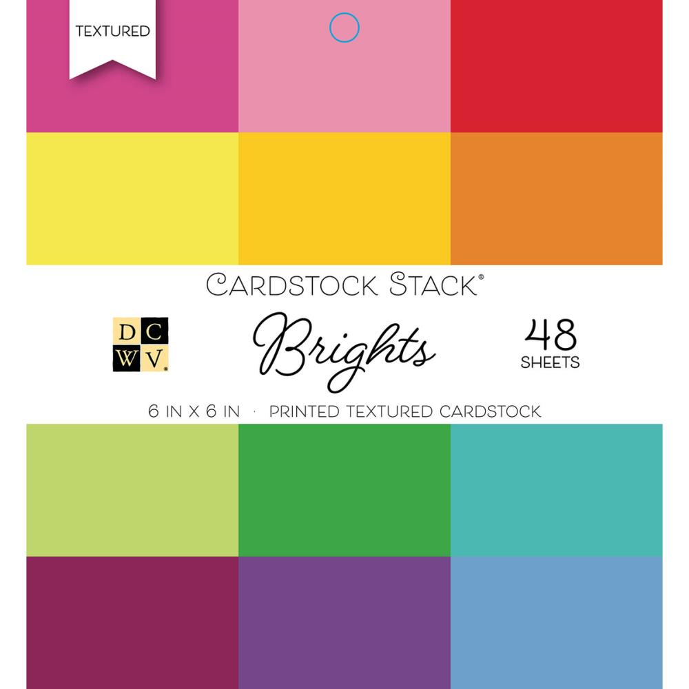Brights 6x6 Cardstock Stack