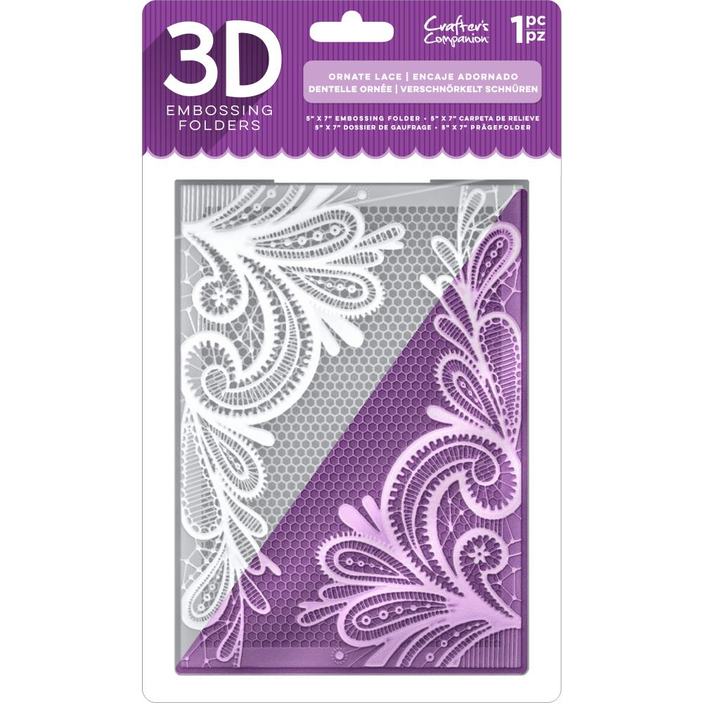 Ornate Lace Embossing Folder