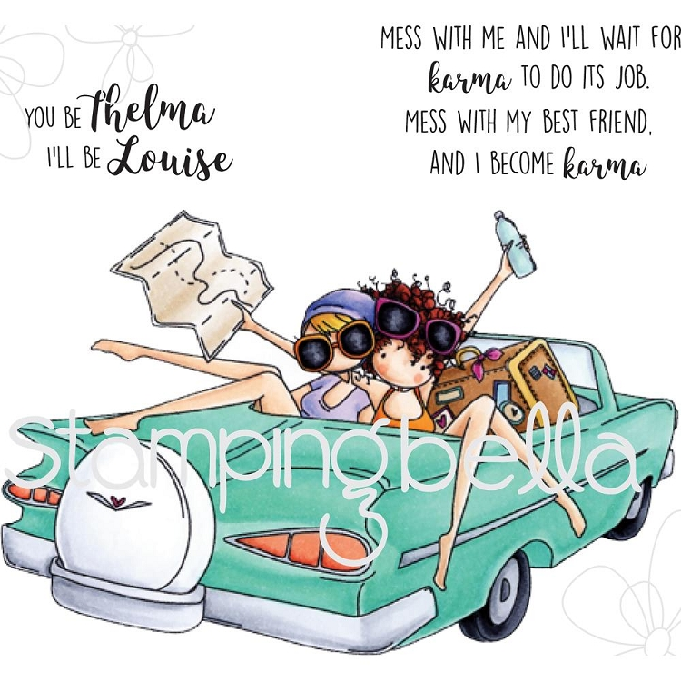 Thelma & Louise Stamp Set