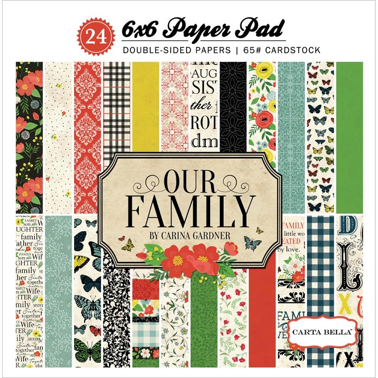 Our Family 6x6 Paper Pad