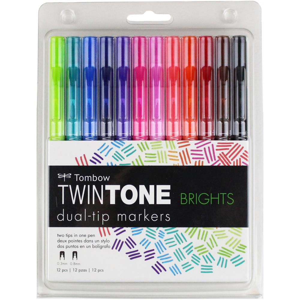 Twintone Marker Set Brights