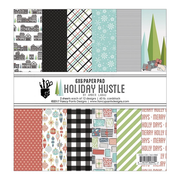 Holiday Hustle 6x6 Paper Pad