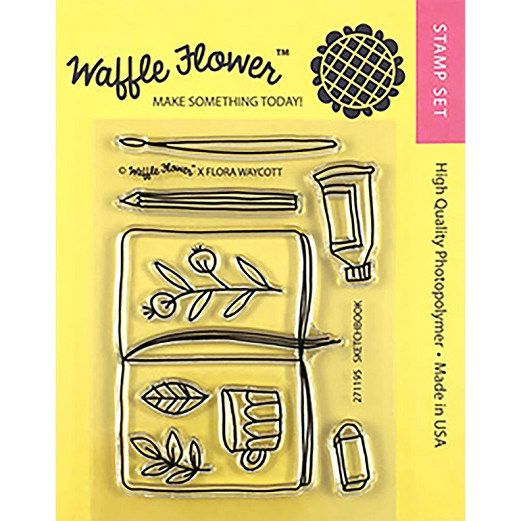 Sketch Book Stamp Set