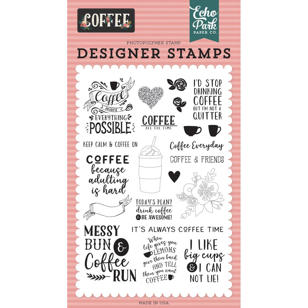 Coffee Time Stamp Set
