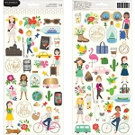 Chasing Adventure Phrase & Icons Stickers