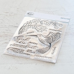 Folk Hummingbird Stamp Set
