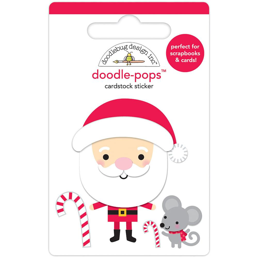 Christmas Magic Sweet Santa Doodle Pops