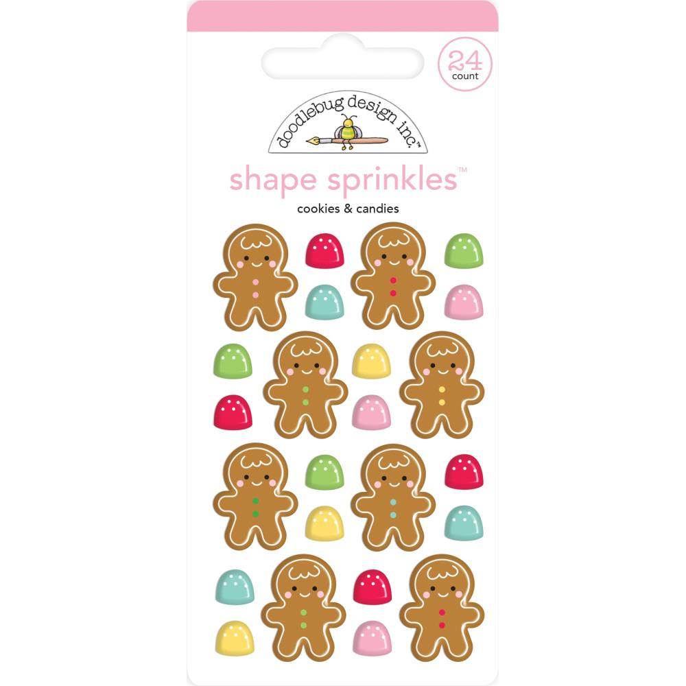 Christmas Magic Cookies & Candies Enamel Shapes
