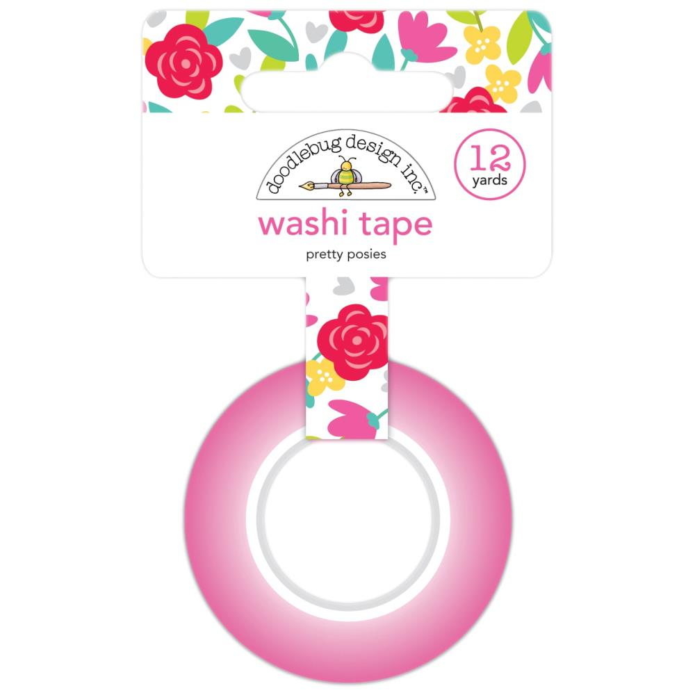 Love Notes Pretty Posies Washi Tape