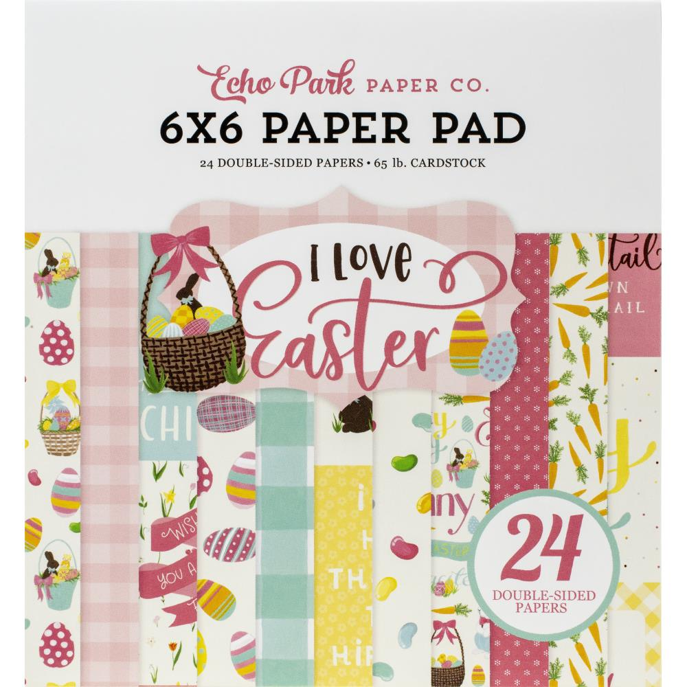 I Love Easter 6x6 Paper Pad