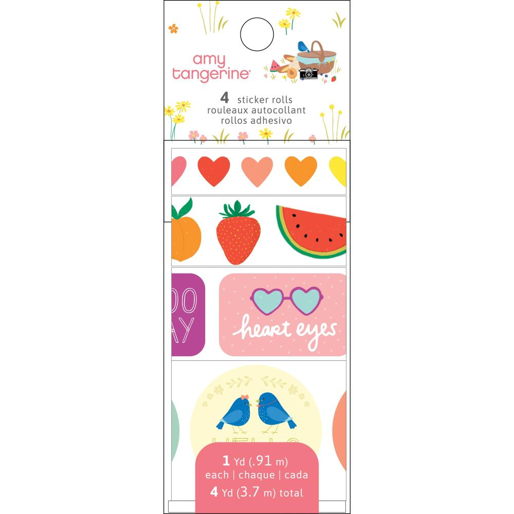 Picnic in the Park Sticker Rolls