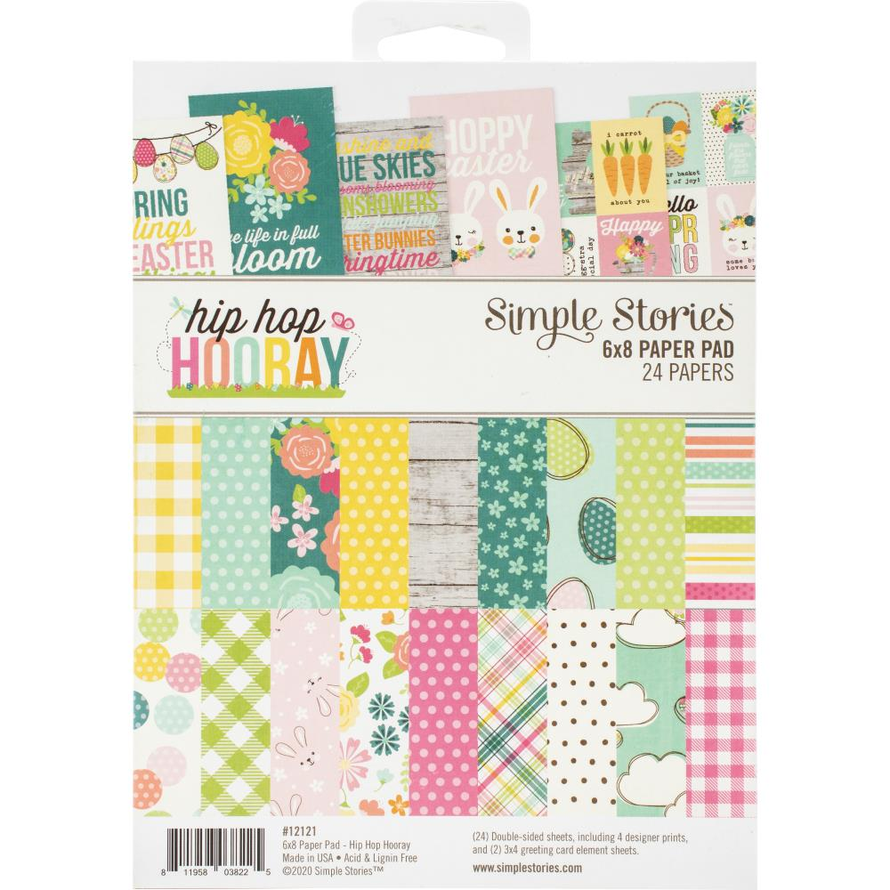 Hip Hop Hooray 6x8 Paper Pad