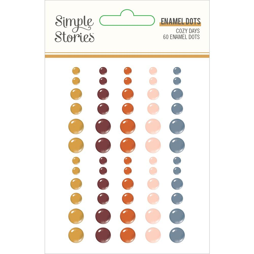 Cozy Days Enamel Dots