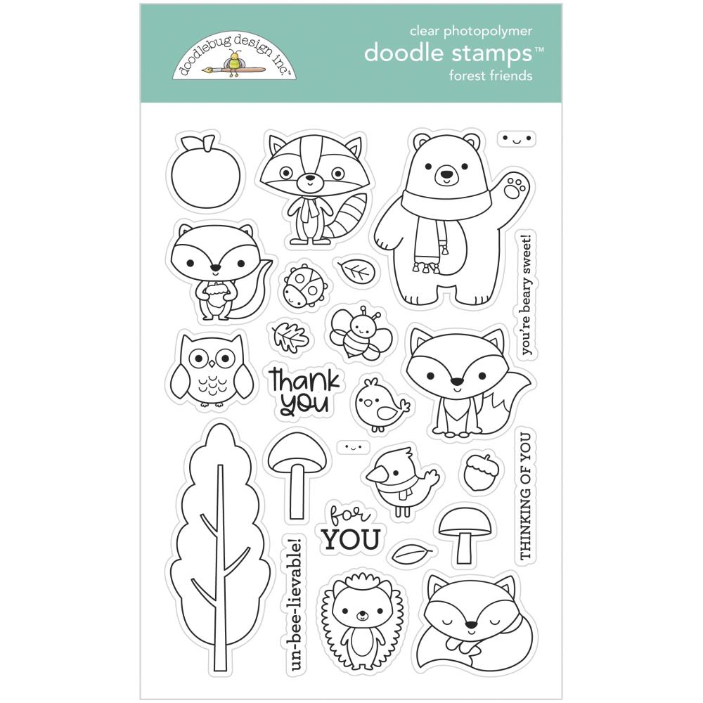 Pumpkin Spice Forest Friends Stamp Set