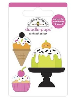 Ghost Town Cake & I-Scream Doodle Pops