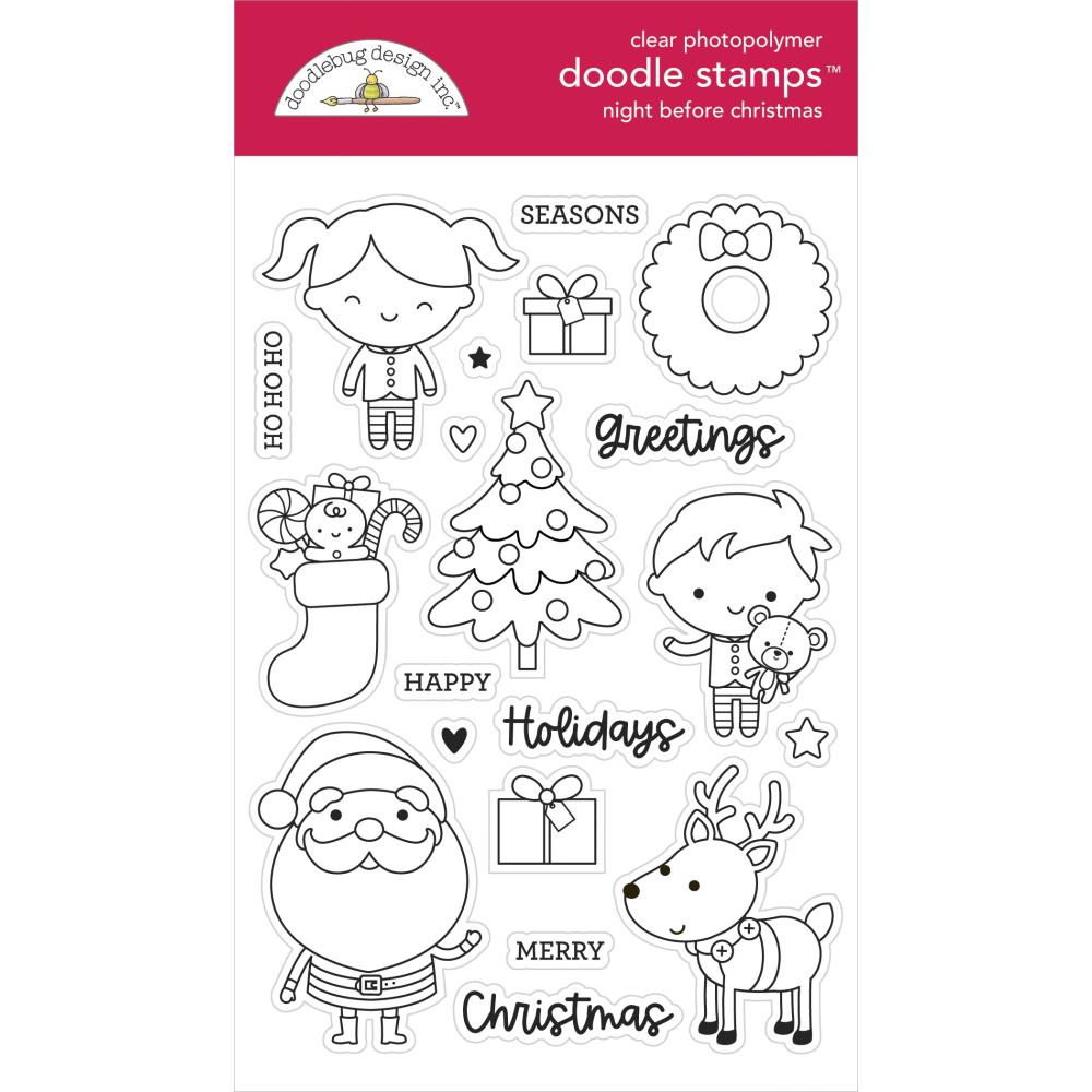 Night Before Christmas Stamp Set