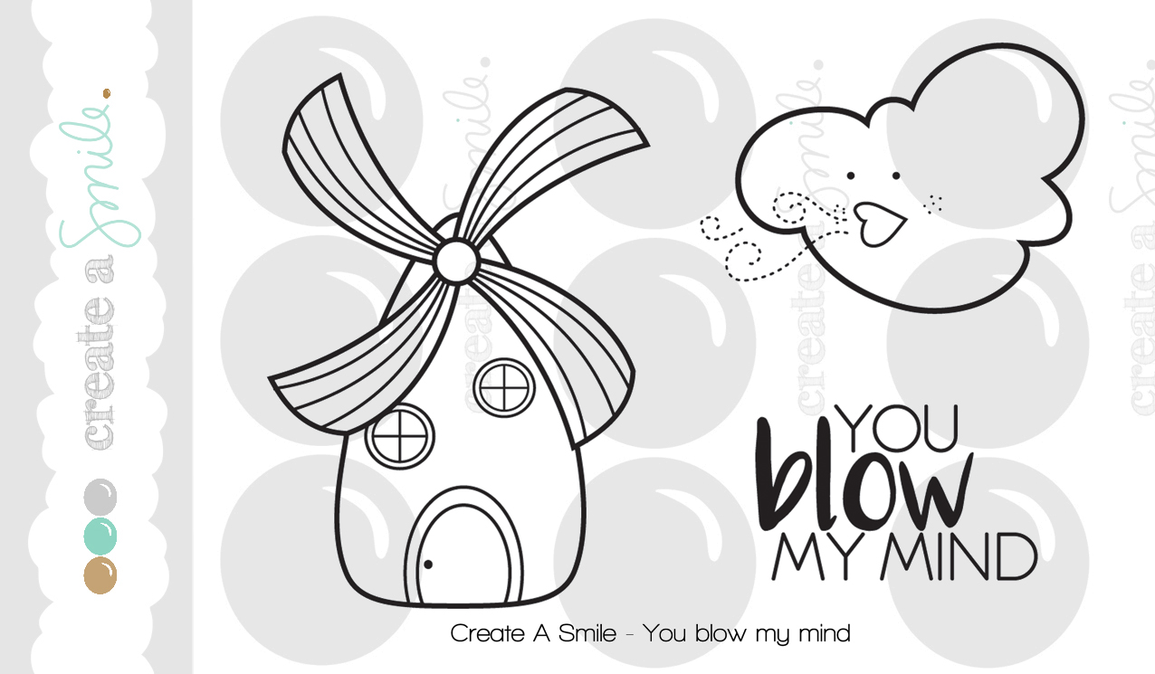 You Blow My Mind Stamp Set