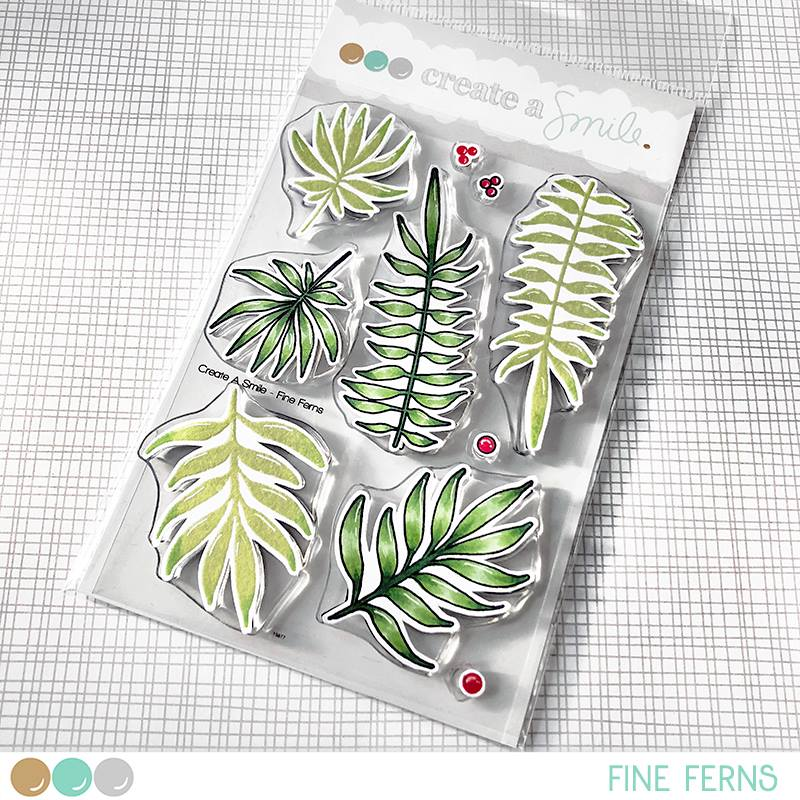 Fine Ferns Stamp Set