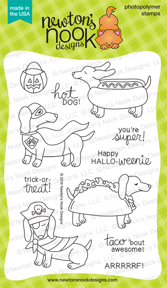 Dress Up Doxies Stamp Set