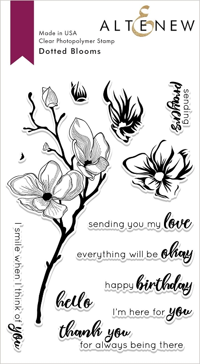 Dotted Blooms Stamp Set