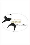 Permanent Black Crisp Dye Ink Pad