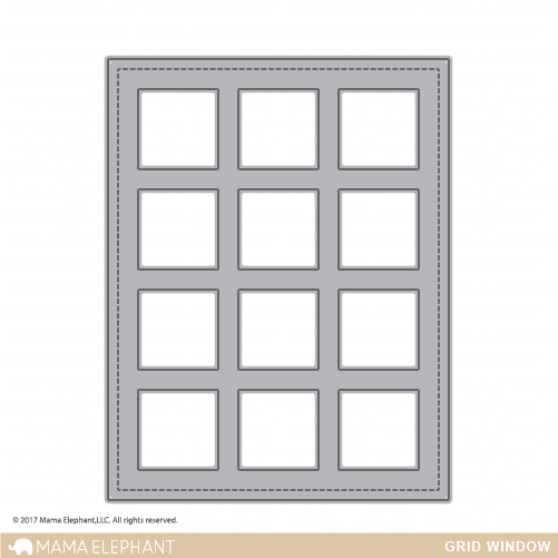 Grid Window Cover Panel