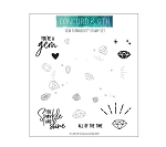 Gem Turnabout Stamp Set