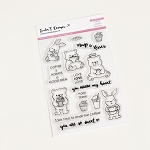 Coffee Loving Critters Stamp Set