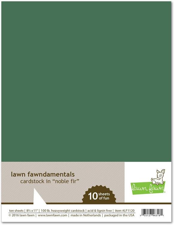 8.5 x 11 Cardstock Noble Fir