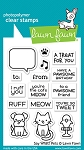 Say What? Pets Stamp Set