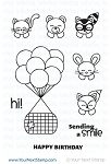 Basket Animals Stamp Set