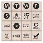 Kelly's Best Day Ever Wood Stamp Set