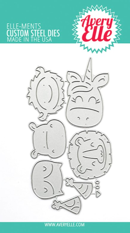 Peek-A-Boo Birthday Tag Toppers Elle-ments