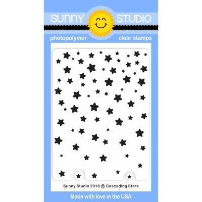 Cascading Stars Stamp Set