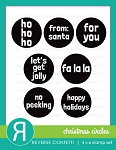 Christmas Circles Stamp Set