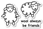 Wool Be Friends Stamp Set