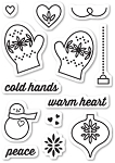 Warm Heart Stamp Set