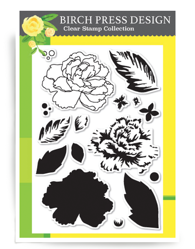 Delicate Peony Stamp Set