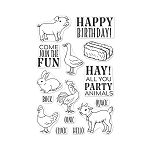 Hay Party Animals Stamp Set