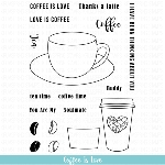 Coffee is Love Stamp Set