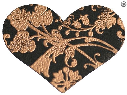 Copper Pearl Embossing Powder